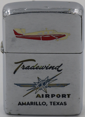 1961 Zippo for Tradewind Airport, Amarillo, Texas