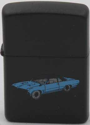 1993 1964 Pontiac GTO blue on black.JPG