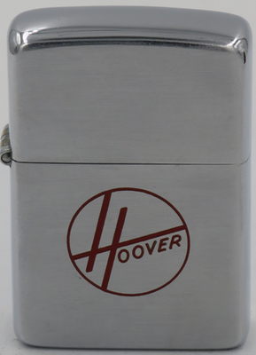 1949-51 Zippo with a Hoover logo. The first upright vacuum cleaner was invented in June 1908 by Canton, Ohio department store janitor and occasional inventor James Murray Spangler (1848–1915). .He then gave one of his Electric Suction Sweepers to his cousin Susan Troxel Hoover(1846–1925), who used it at home