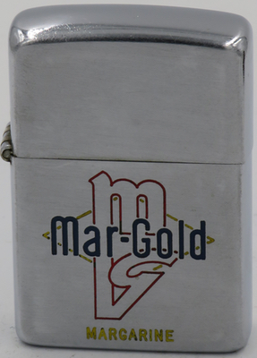 1949-51 Zippo advertising  Mar-Gold margarine