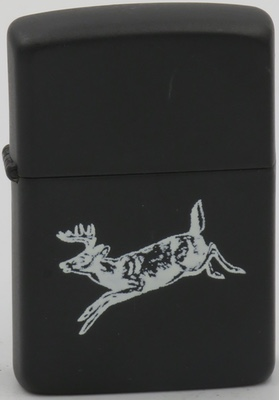 1984 proto leaping deer white on black.JPG