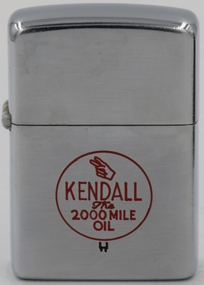 1951 line-drawn Kendall Zippo