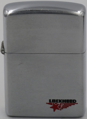 1953 Lockheed advertising Zippo