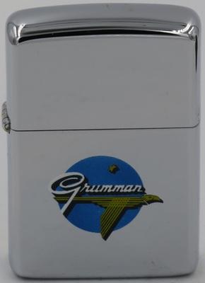 1953-54 high-polish Zippo with the T&C Grumman logo