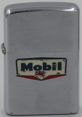 1956 Zippo with the Mobil logo