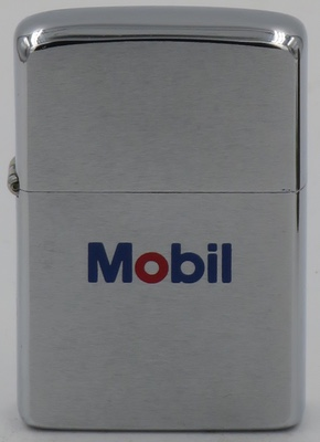 1971 Zippo with Mobil Oil logo  without the Pegasus