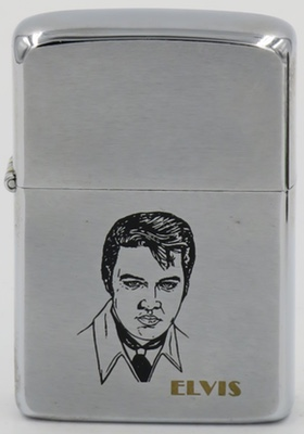 1982 Zippo with Elvis on matte  finish.