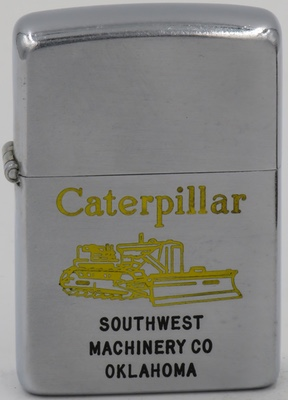 1949-50 Caterpillar Zippo for Southwest Machinery Company in Oklahoma.