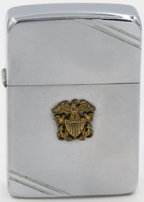 1942-45 World War II period Zippo with the US Navy logo.