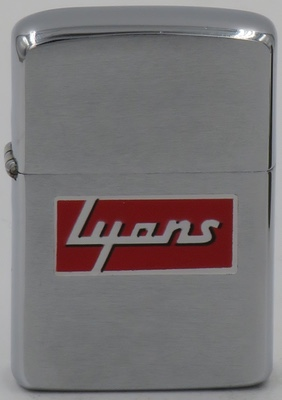 1960 Zippo with T&C advertising for Lyons