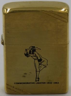 1982 Zippo Comm Windy Grirl Brass.JPG