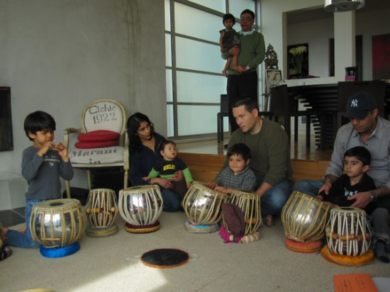Kids Music Class with Tabla (Indian Drums) in Marin