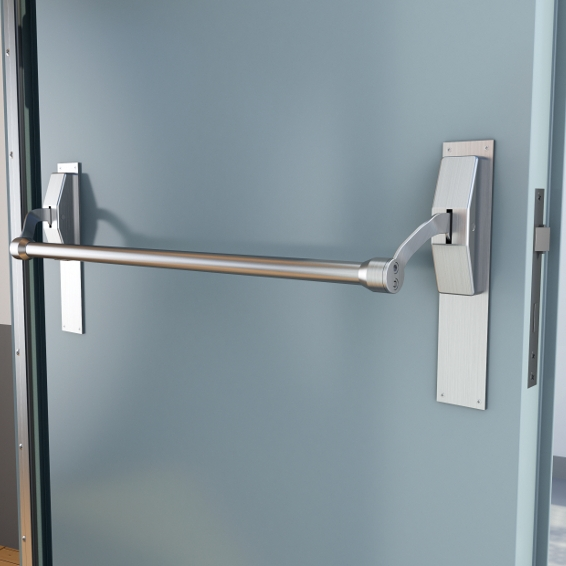 Panic bar door & Emergency Exit Door Locks u2014 Phoenix Commercial Locksmith | Phoenix AZ