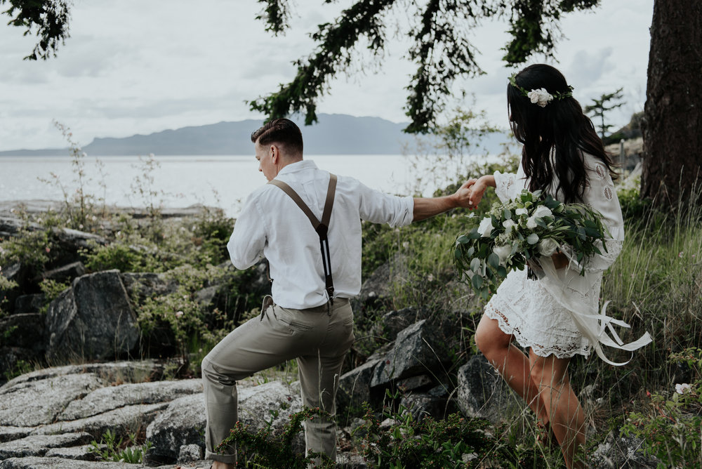 Ashley + Jeff - Rockwater Resort Elopement - Sunshine Coast BC Photographer - Laura Olson Photography-.jpg
