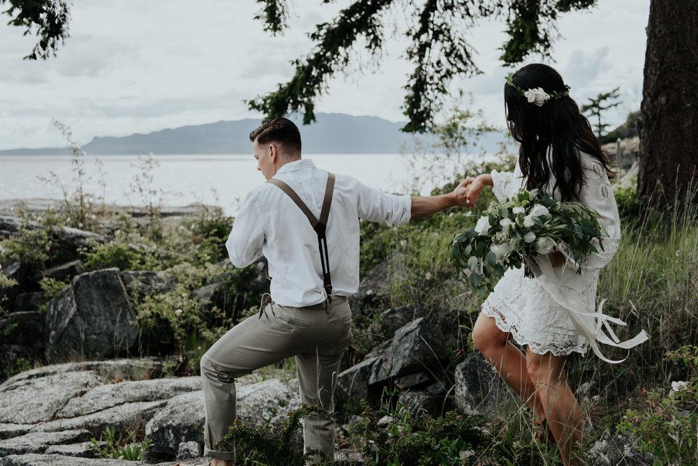 Ashley + Jeff - Rockwater Resort Elopement - Sunshine Coast BC Photographer - Laura Olson Photography-.jpg