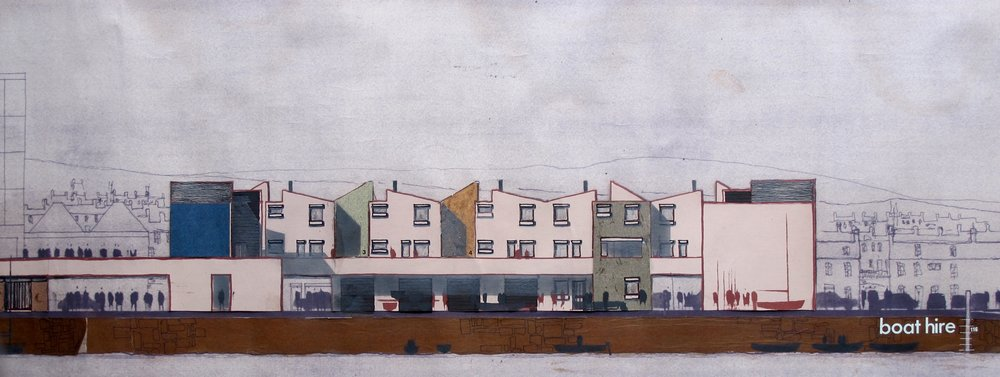 Fourth Year Project : Dockside Housing, Tayport, Scotland