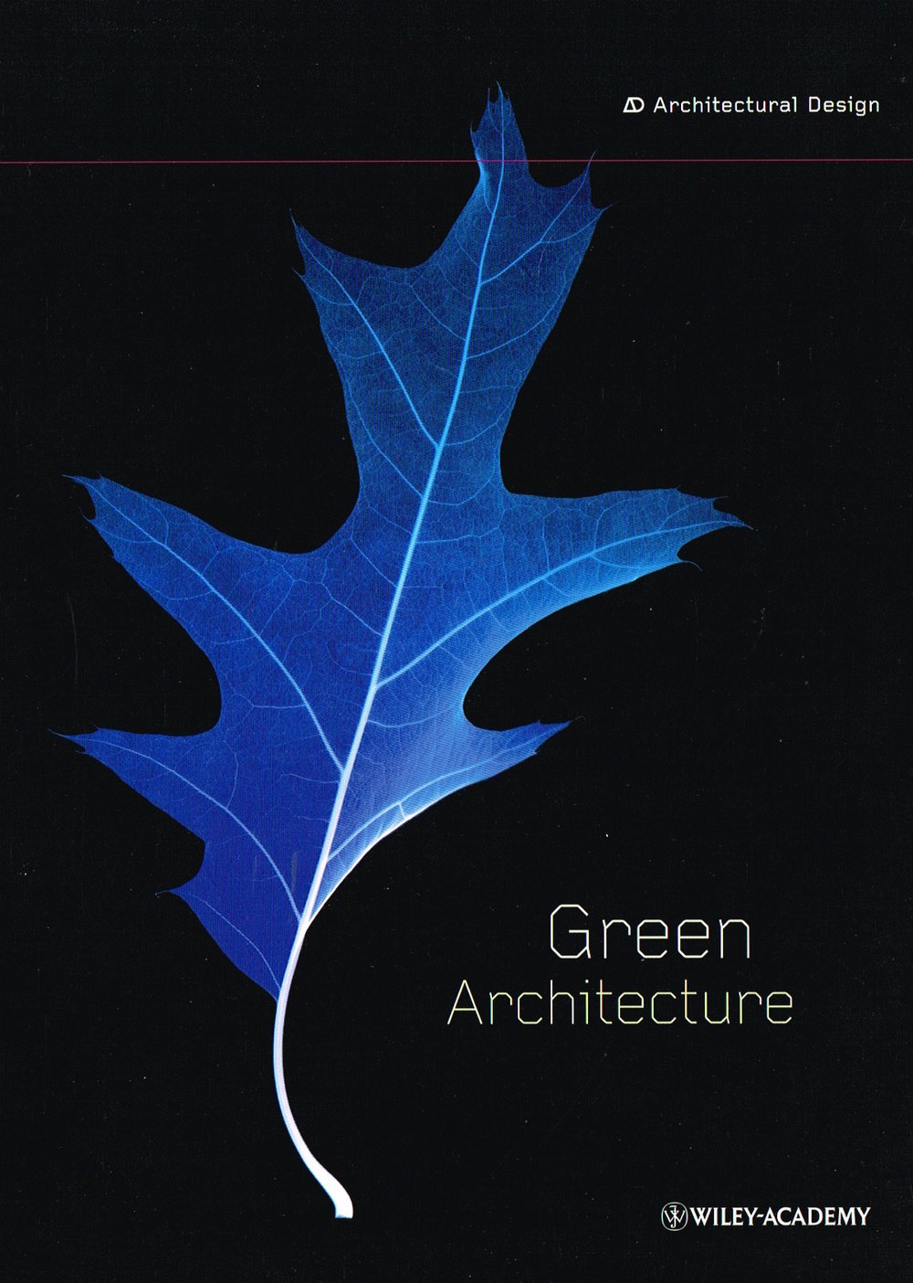 'AD Green Architecture' : Wiley Academy, London, 2001