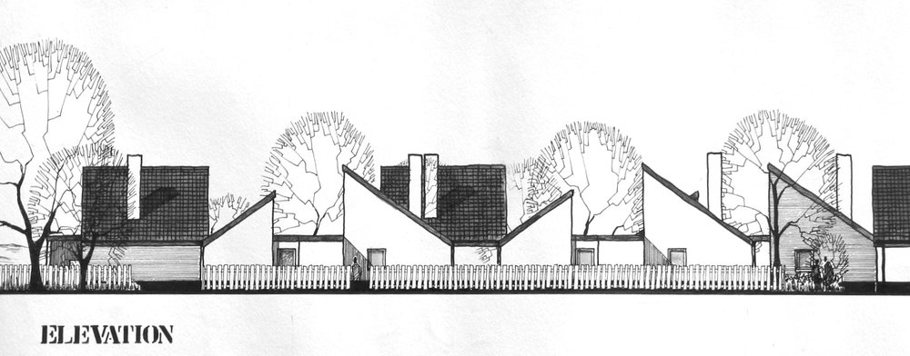 Second Year Project : Village Housing, Fife, Scotland