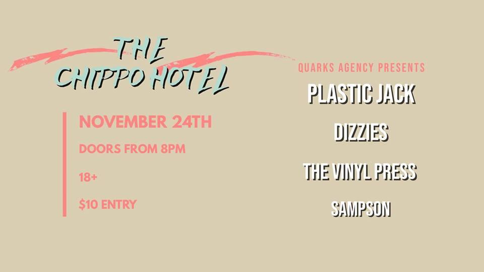Plastic Jack w: Dizzies, The Vinyl Press, Sampson.jpg