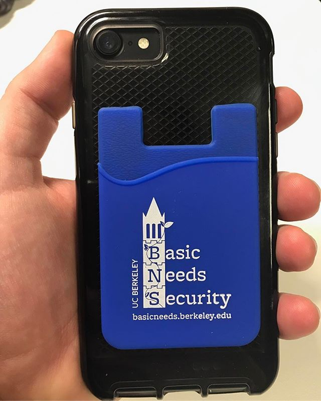 Excited to share our #UCBbasicneeds cell phone wallets with you all fam!
