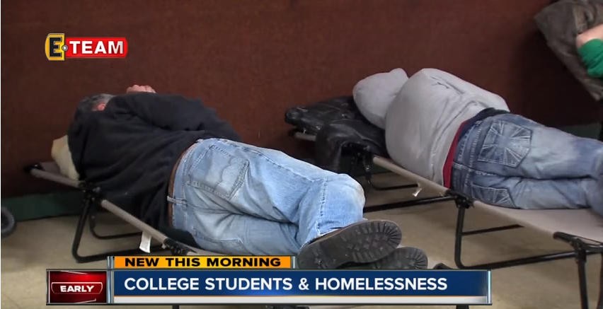 Homeless college students: A bigger problem than you may think