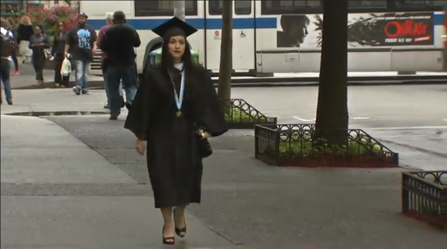 Once Homeless Student Who Cared for Brothers Graduates College