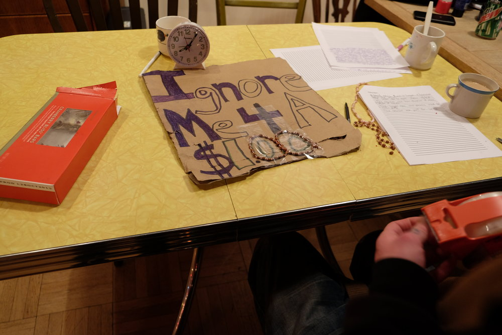 Ilija, 2015 art class
