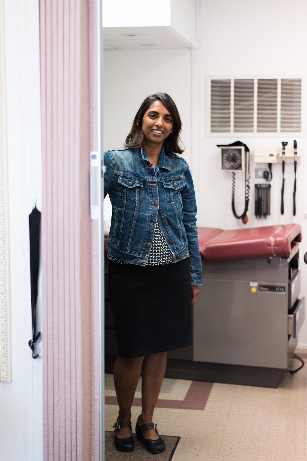 Dr. Shireesha Dhanireddy,  photo by Grace Beck.