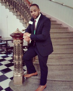 D'Jamel Young at the White House