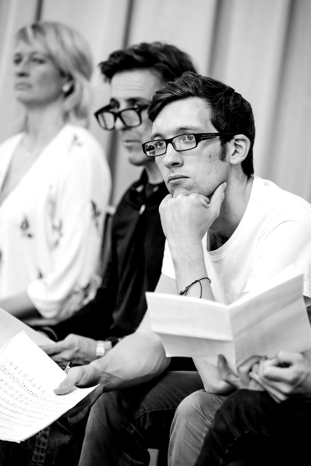 Rehearsal for Our Town (Almeida, 2014). Photography: Marc Brenner