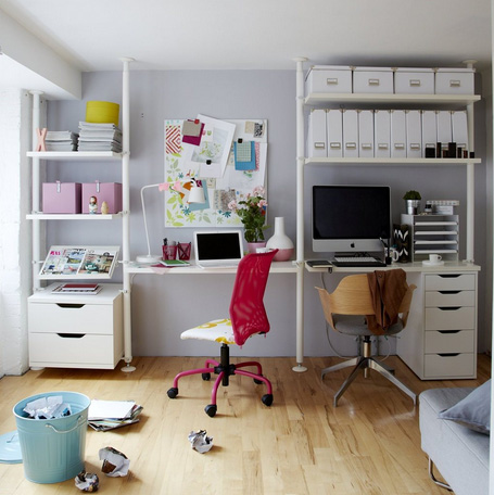 Ikea work space 2