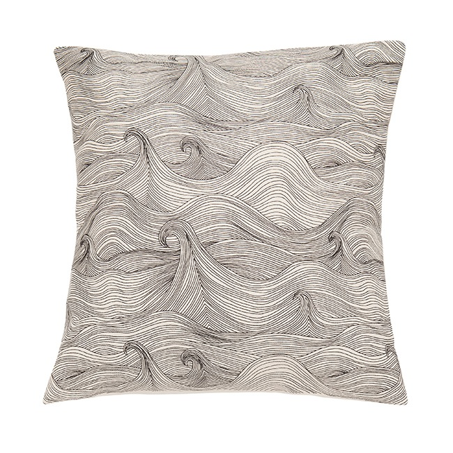 Seascape Cushion Cover by Abigail Edwards