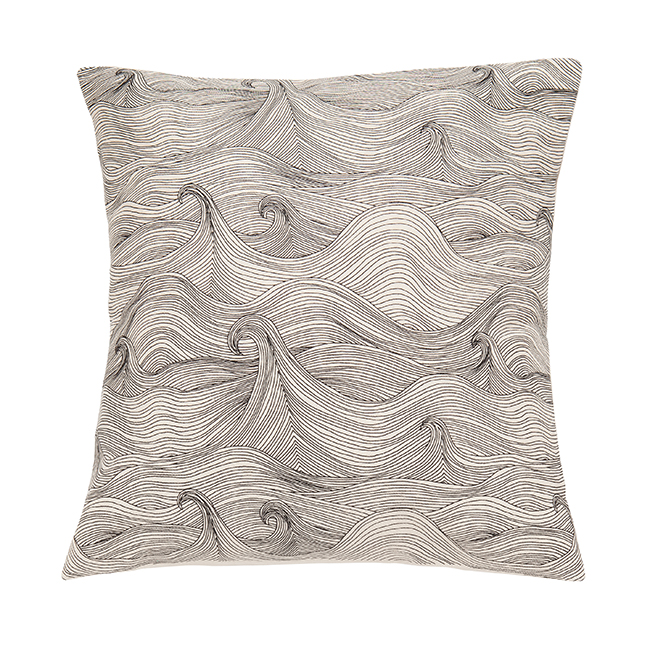 Seascape cushion cover