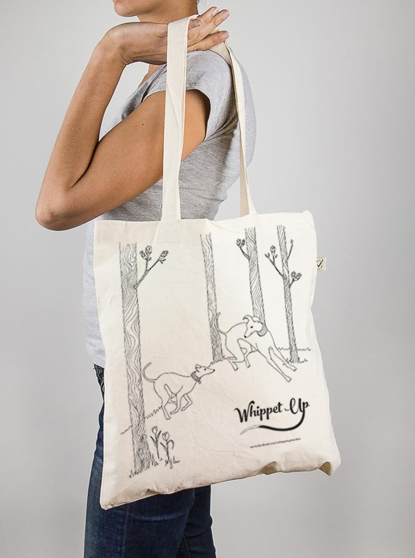 WhippetUp tote bag