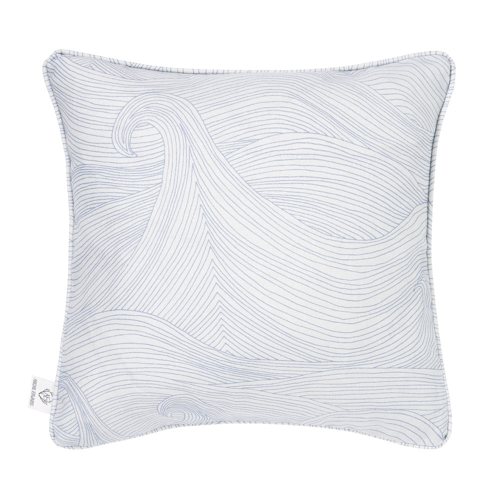 Seascape in Summer cushion cover