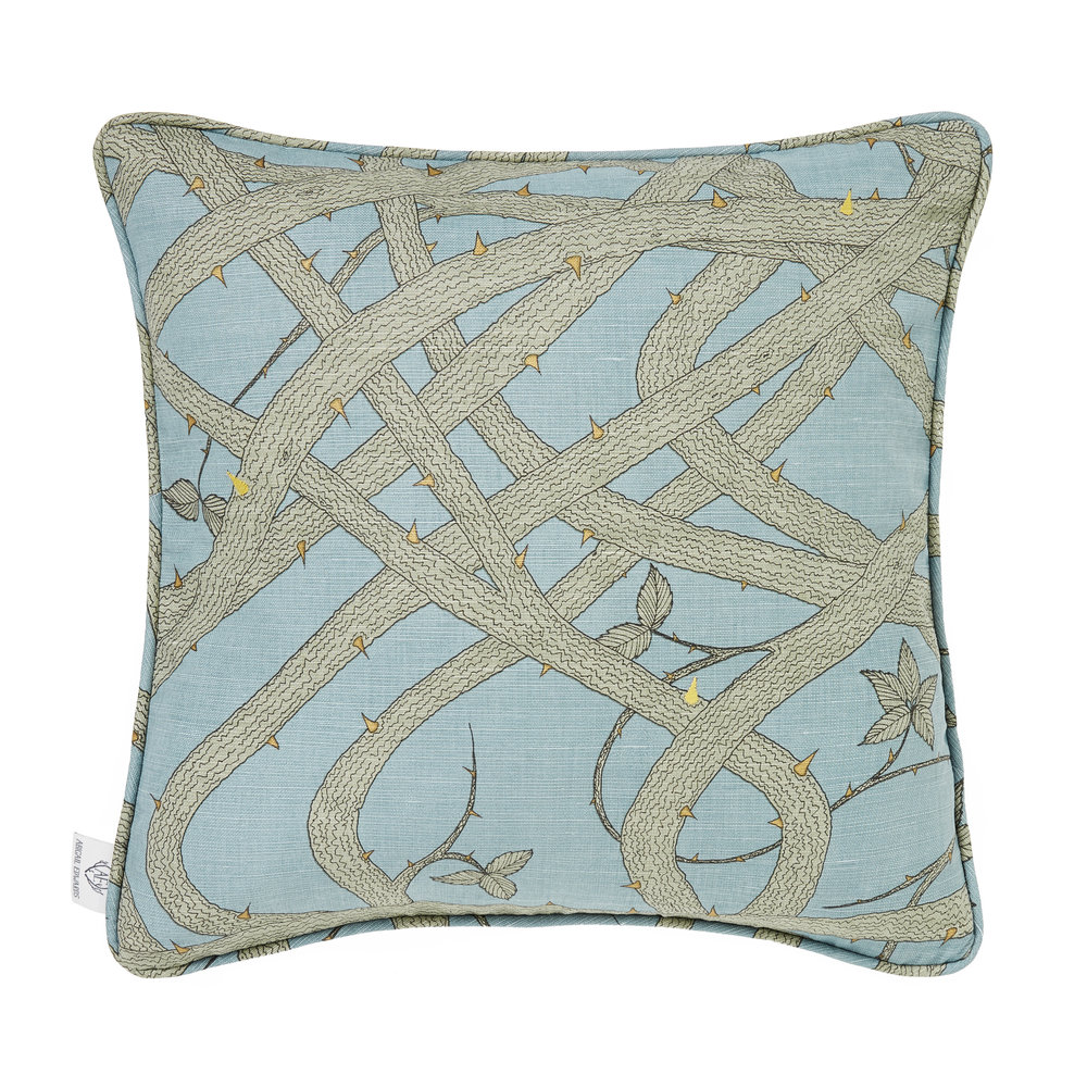 Brambleweb at Dusk cushion cover