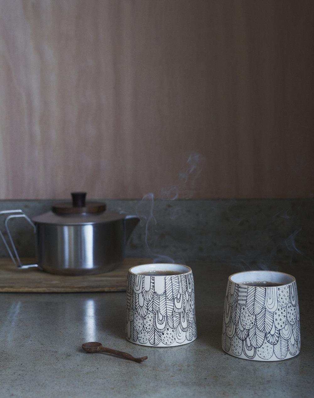 Muck Ceramics x Abigail Edwards limited edition small Bird vessels