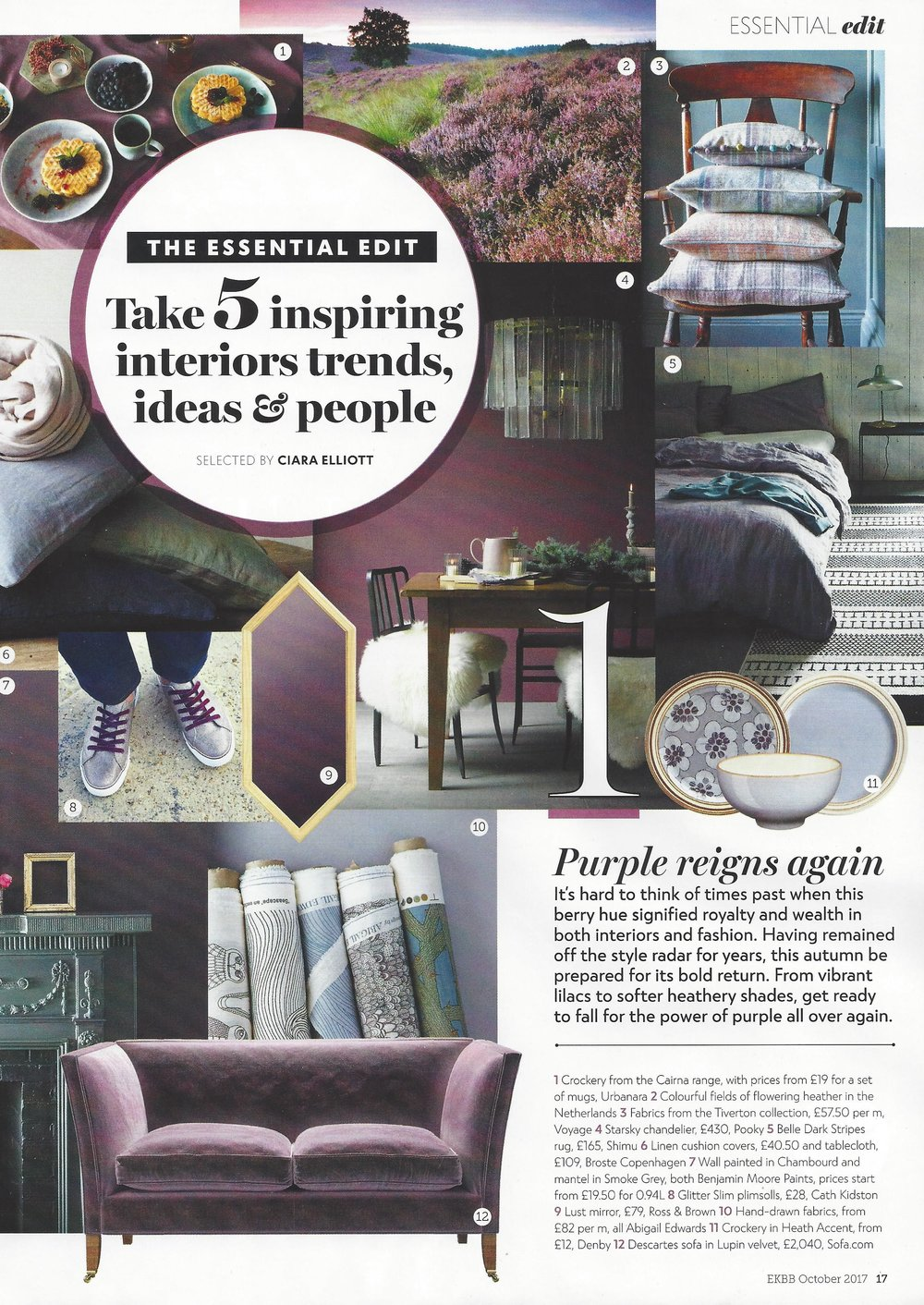 Fabric in EKBB Magazine
