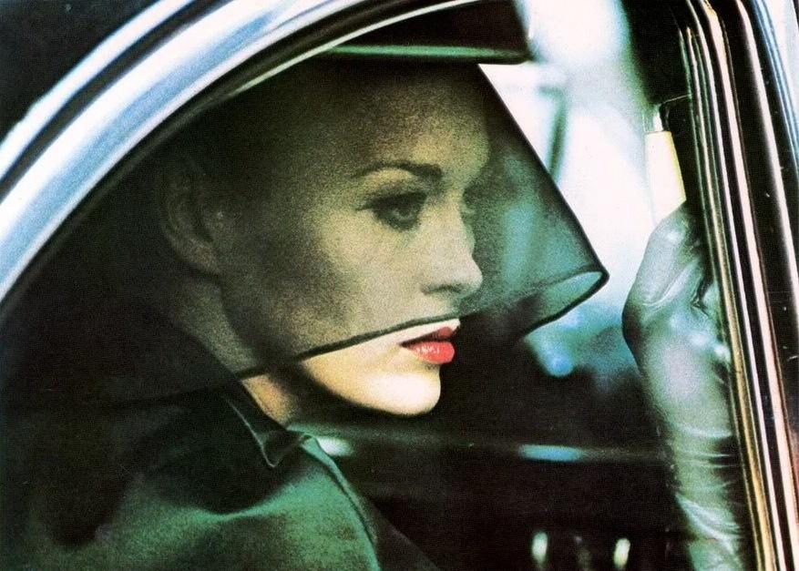 Faye Dunaway,in Portrait d'une enfant déchue.