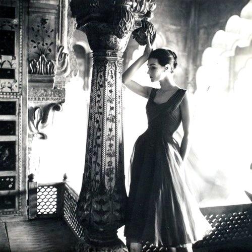 Anne Gunning, par Norman Parkinson.