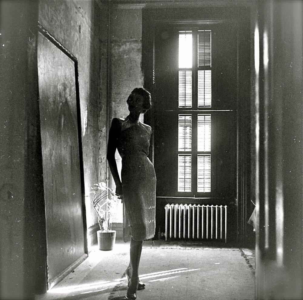 Modèle inconnu | Nina Leen.