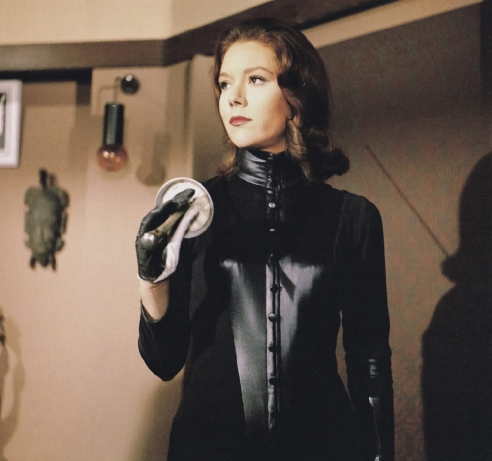 Diana Rigg, extrait de Chapeau melon & bottes de cuir.