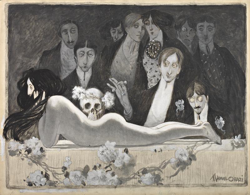 Messe noire, de Manuel Orazi.