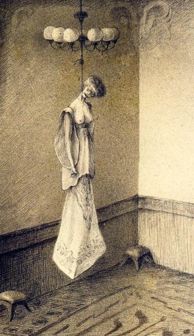 Madame, ou le chandelier moderne, d'Alfred Kubin