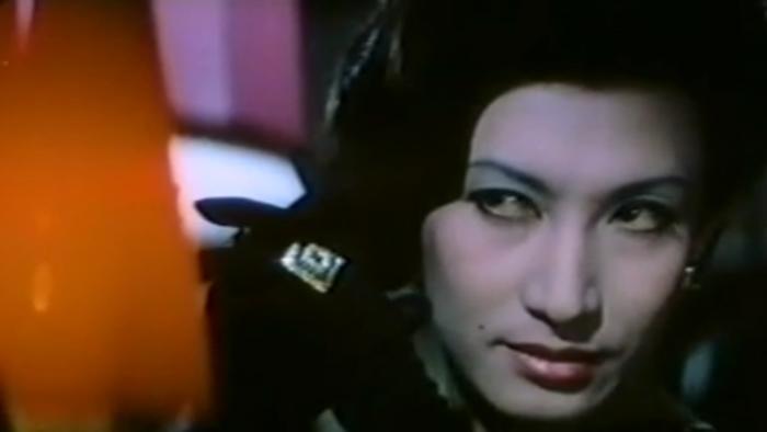 Miwa, in Le Lézard noir[1968].