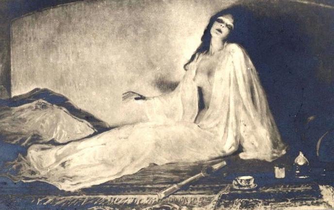 Le Vampire de l'opium | Albert Matignon.