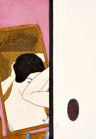 Le Miroir    Onchi Koshiro [1929]