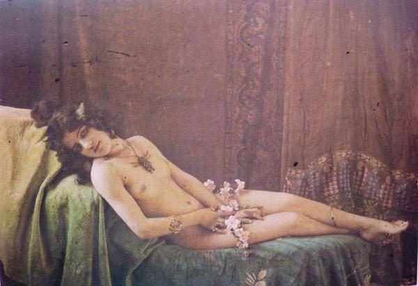 Nu allongé | Paul Bergon [1900]