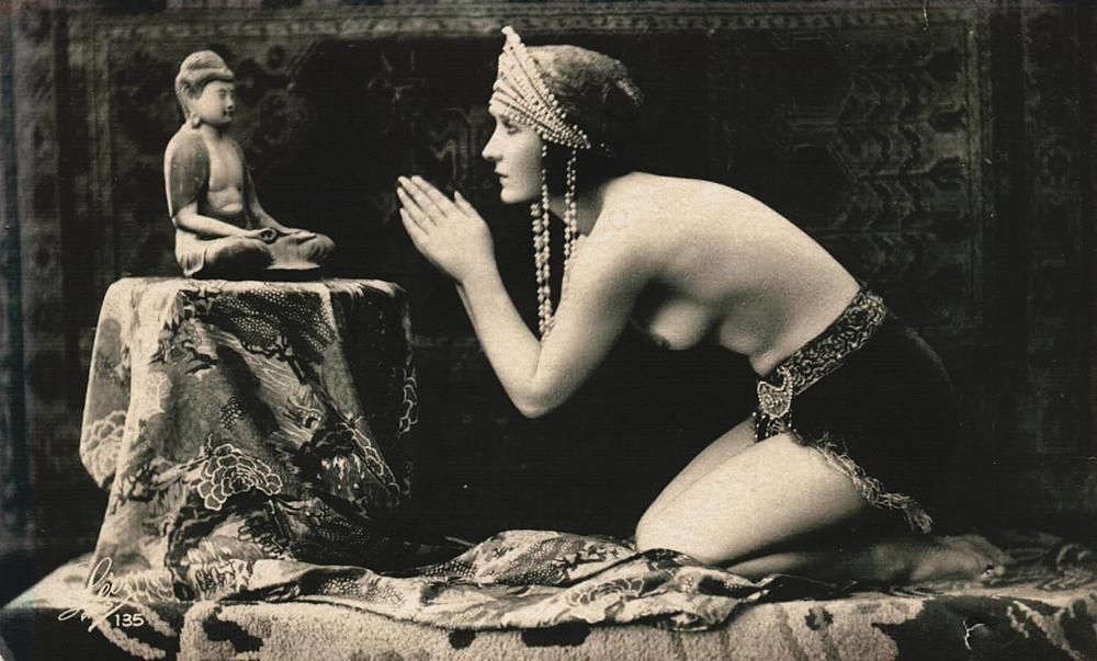Modèle & photographe inconnus [1920]