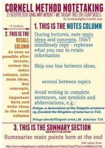 Learn how to take good notes!